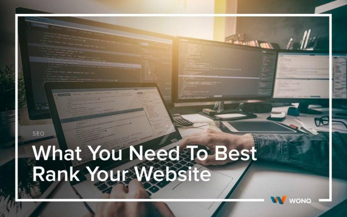 What You Need To Best Rank Your Website